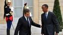 Premier chef d'Etat rwandais à venir à Paris depuis le génocide en 1994 de la minorité tutsie, à laquelle il appartient, Paul Kagame (à droite) a été reçu lundi à l'Elysée par Nicolas Sarkozy. Il a plaidé pour un accroissement des échanges commerciaux ent