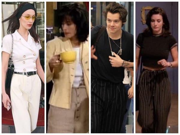 Quand le look de Monica inspire Bella Hadid et Harry Styles