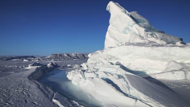 Le Groenland - Illustration