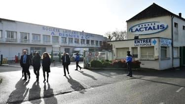 Lactalis, un géant mondial du lait, dont le siège est basé à Laval (France)