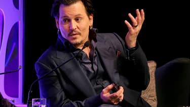Johnny Depp en février 2016 à Santa Barbara