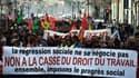Manifestation contre la loi Travail le 9 mars 2016 à Marseille.