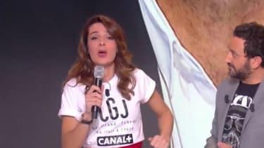 """Ornella Fleury s'est invitée sur le plateau de """"Touche pas à mon poste!"""""""