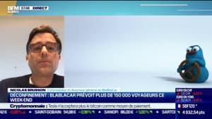 Nicolas Brusson (BlaBlaCar): BlaBlaCar prévoit plus de 150 000 voyageurs ce week-end - 13/05