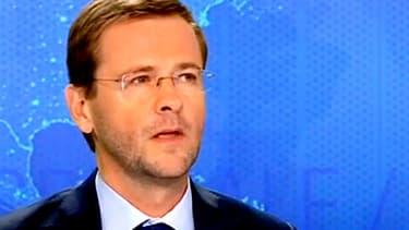 Le directeur de cabinet de Jean-François Copé Jérôme Lavrilleux sur BFMTV, lundi 26 mai