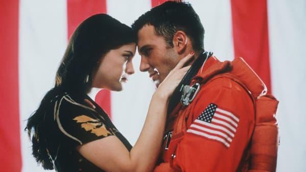 Liv Tyler et Ben Affleck dans Armageddon de Michael Bay