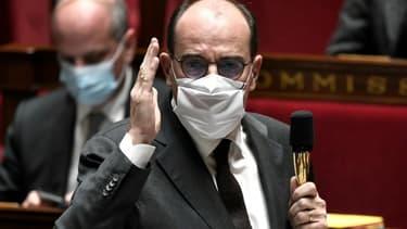 Le Premier ministre Jean Castex, le 3 novembre 2020 à l'Assemblée nationale (Photo d'illustration)
