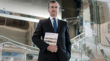 """""""L'Europe devrait concentrer son énergie sur quelques projets: par exemple, la Défense, la transition énergétique, un Erasmus Pro pour les jeunes moins qualifiés."""", estime François Villeroy de Galhau."""