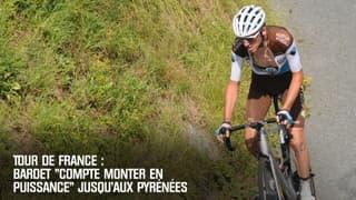 """Tour de France : Bardet """"compte monter en puissance"""" jusqu'aux Pyrénées"""