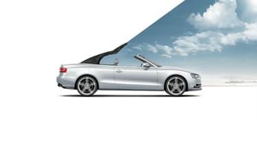 Une publicité pour l'Audi A5 Cabriolet
