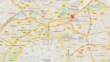 La ville du Bourget au nord-est de Paris, en Seine-Saint-Denis.