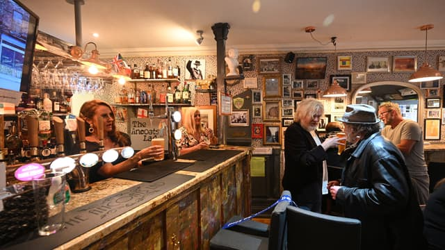 Pub à Manchester
