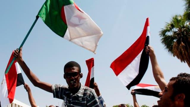 Les supporters algériens