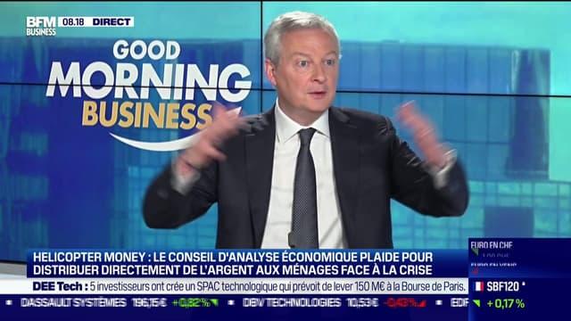 Bruno Le Maire sur BFM Business.