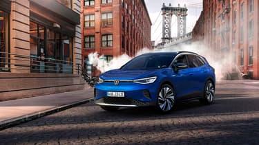 Volkswagen a dévoilé ce mercredi son premier SUV 100% électrique, l'ID.4.