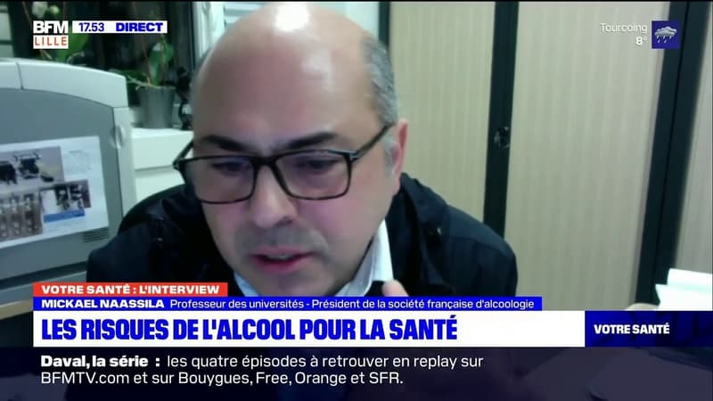 Votre Santé Lille: l'émission du 21/01, avec Mickael Naassila, président de la société française d'alcoologie