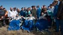 Soyouz a ramené sur Terre mercredi trois astronautes partis en décembre en mission sur la Station spatiale internationale (ISS). La capsule s'est posée près de Zhezkazgan, dans les steppes du Kazakhstan. /Photo prise le 2 juin 2010/REUTERS/NASA/Bill Ingal