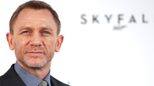 """Daniel Craig interprète pour la troisième fois le rôle de James Bond, dans le nouvel opus, """"Skyfall"""""""