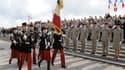 Plusieurs historiens jugent que la cérémonie devrait être plus tournée vers l'Europe, et moins vers la victoire militaire.