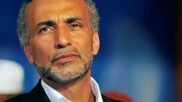 Le théologien musulman suisse controversé Tariq Ramadan à Abidjan, le 6 septembre 2011
