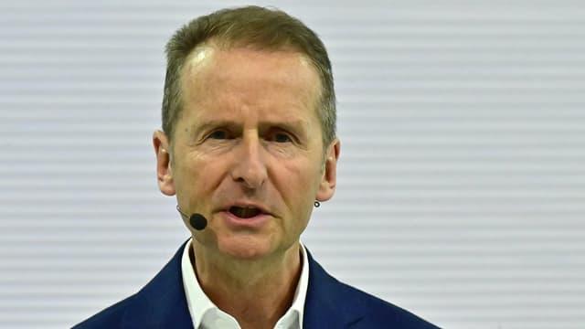 L'actuel numéro 1 du groupe Volkswagen, Herbert Diess, s'est excusé.