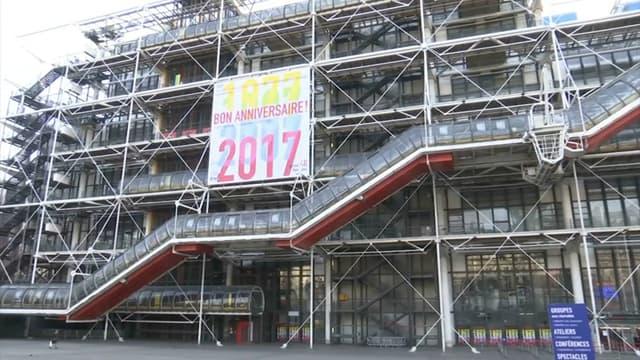 Le centre Georges Pompidou est à nouveau en grève ce jeudi.