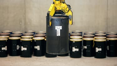 La France abrite 1,5 million de mètres cubes de déchets nucléaires. (image d'illustration)