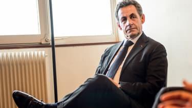 Nicolas Sarkozy le président de l'UMP