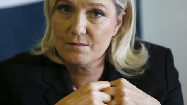 Marine Le Pen, le 19 février 2016. - Patrick Kovarik - AFP