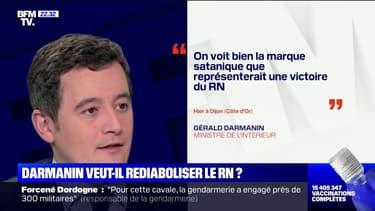Gérald Darmanin veut-il rediaboliser le Rassemblement national ?