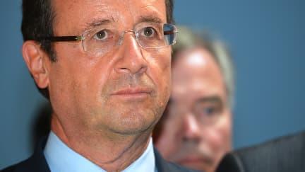 La cote de popularité de François Hollande a perdu 11 points entre août et septembre.