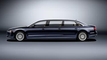 Une limousine Audi, puissante, spacieuse et luxueuse, tout en gardant un niveau de performances digne de la marque. C'est en tout cas la promesse faite par le constructeur.