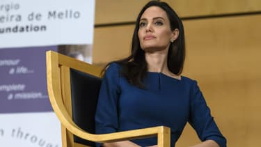 Angelina Jolie à Genève, le 15 mars 2017