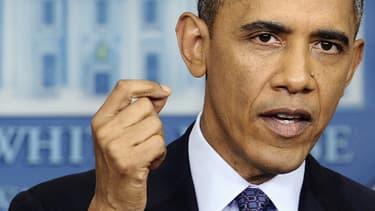 Le président des Etats-Unis Barack Obama le 10 octobre, à la Maison Blanche.