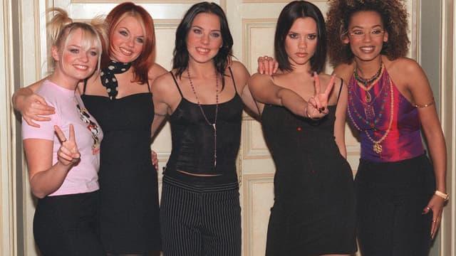 Les Spice Girls au complet, le 16 décembre 1997 à Paris
