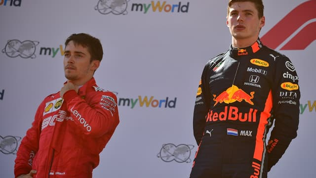 Leclerc et Verstappen