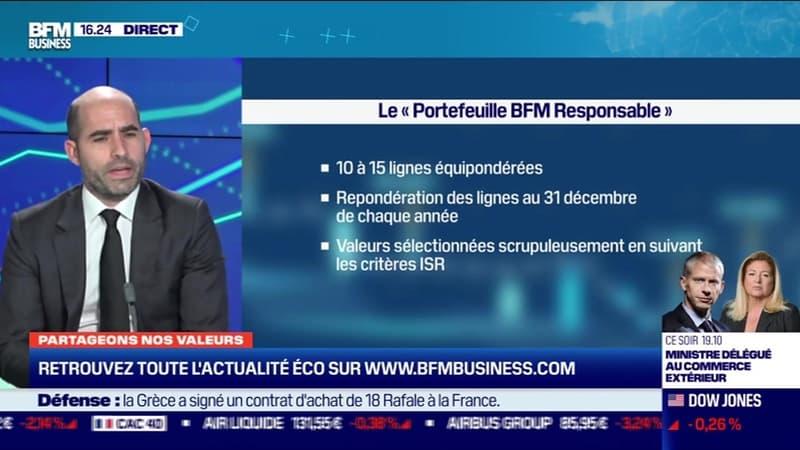 Partageons nos valeurs : Le portefeuille BFM Responsable en hausse de 1% la semaine dernière - 25/01