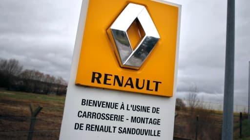 L'usine Renault de Sandouville est l'une des trois qui pourraient accueillir la production du futur utilitaire Fiat.