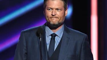 Le chanteur de country Blake Shelton.