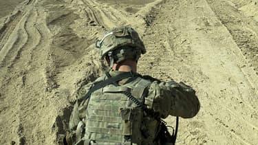 Un soldat américain au sud de l'Afghanistan en septembre 2012 (Image d'illustration)