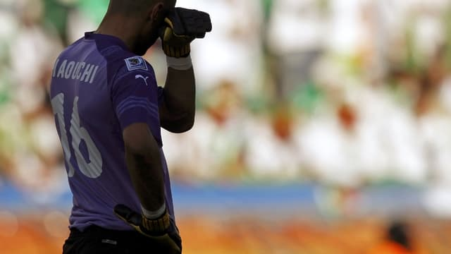 Le gardien de but a fait une grosse faute de main lors de la défaite face à la Slovénie (0-1)