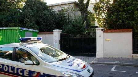 Le domicile de Liliane Bettencourt à Neuilly-sur-Seine. Les perquisitions effectuées lundi dans l'affaire Woerth-Bettencourt visaient en particulier la comptabilité de la milliardaire. Au total, sept perquisitions ont eu lieu dans le cadre des enquêtes pr