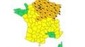 36 départements ont été placés par Météo France en raison de risques d'orages violents en fin de journée.