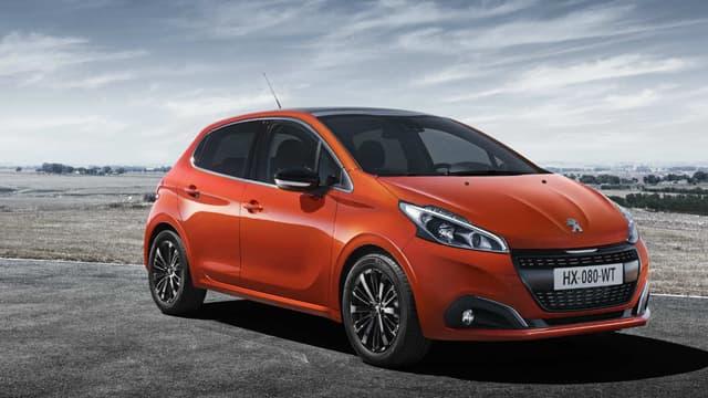 En France, depuis le 1er janvier, la voiture la plus vendue est la Peugeot 208.