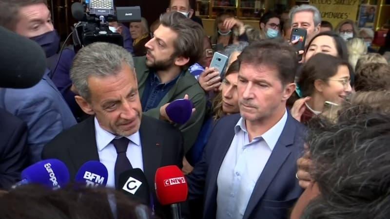 """Nicolas Sarkozy sur la crise des sous-marins: """"Le président Macron a eu raison de réagir fermement"""""""