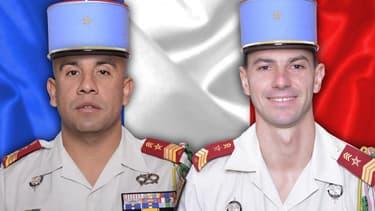 Timothé Dernoncourt et Emilien Mougin, les deux soldats français tués au Mali le 21 février 2018