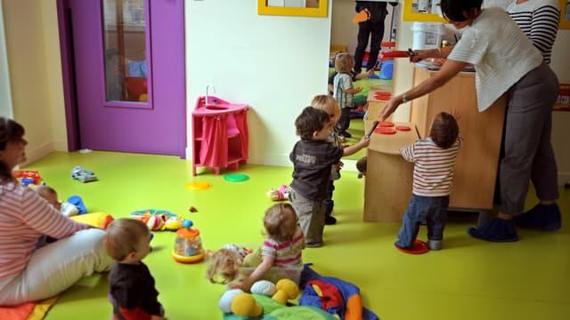 La mairie de Lyon a pris plusieurs mesures pour agir pour la santé des plus petits dans les crèches. (Photo illustration)