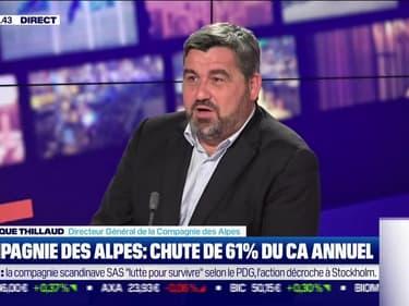 Dominique Thillaud (Compagnie des Alpes) : Chute de 61% du CA annuel de la Compagnie des Alpes - 25/10
