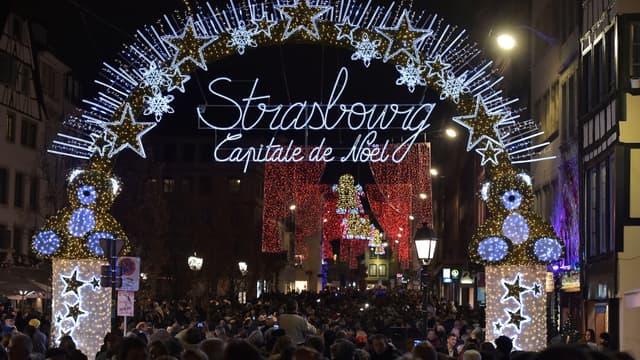 L'ouverture du marché de Noël de Strasbourg, le 25 novembre 2016. - (Photo d'illustration)