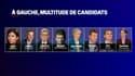 Anne Hidalgo, Fabien Roussel, Jean-Luc Mélenchon, Arnaud Montebourg, Delphine Batho, Yannick Jadot, Éric Piolle, Sandrine Rousseau... De nombreuses personnalités se sont déclarées candidates à la présidentielle de 2022.